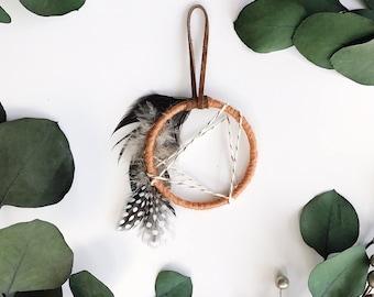 Boho Dream Catcher, Friend Gifts Under 20, Small Dreamcatcher Wall Hanging, Bohemian Home Decor, Mini Dreamcatcher, Boho Dorm Room Decor