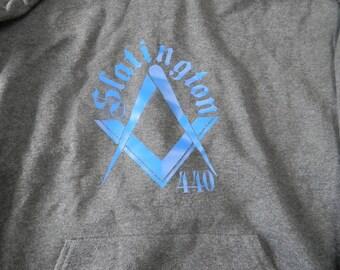 Freemason square and compass sweatshirt