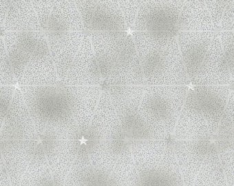 Magical Moments Metallic Silver Vines & Stars 4593-905 from Blank Quilting by the yard