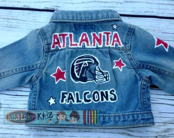 F00tball Boys Boutique custom painted jacket 12 18 24 2 3 4 5 6 7 8 9 10