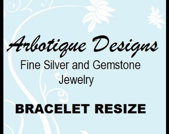Bracelet Resize with Return Shipping
