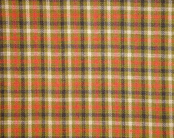 Homespun Fabric | Small Check Fabric | Primitive Cotton Fabric | Quilt Fabric | Home Decor Fabric | Apparel Fabric | Craft Fabric