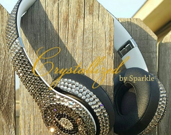 Crystallized Beats by Dre Solo Headphones Adorned with Swarovski® Crystals
