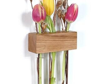 Window vase flower vase glass jar test tube vase flower vase