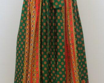Joseph Magnin Vintage Maxi Skirt