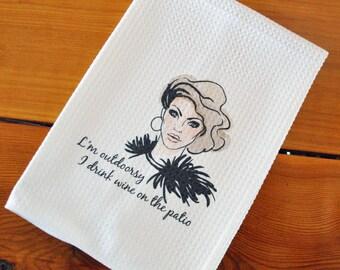 Tea Towel - I'm Outdoorsy
