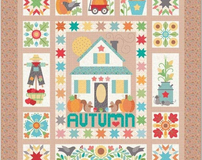 Featured listing image: Autumn Love Quilt Kit