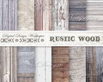 COMMERCIAL USE,White Wood,Wood Digital Paper, Rustic Wood Digital Paper, Rustic Wood Texture, Distressed Wood, Digital Wood Background