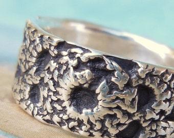 Boho Jewelry, Boho Gypsy Silver Ring, Handmade Silver Ring, Bohemian Style Jewelry, Handmade Bohemian Fashion Silver Ring