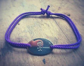 Silver Oval bracelet 925
