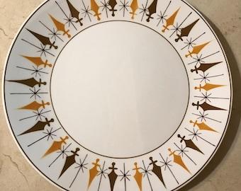Mikasa Nordic Cera-Stone Dinner Platter - Retro Scandinavian Plate - Mid Century Vintage -