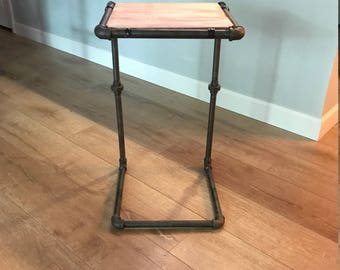 Industrial Steampunk Side Table
