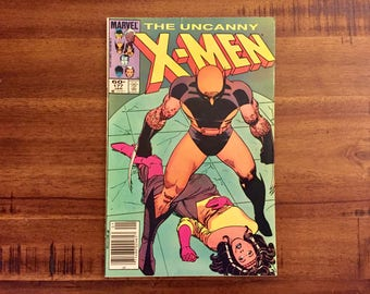 1984 X-Men #177 Comic Book / FN-VG / J / Wolverine / Nightcrawler / Mystique