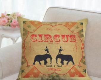 Circus Designer Pillow