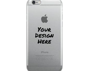 Custom iPhone Case, Personalized with your design or quote