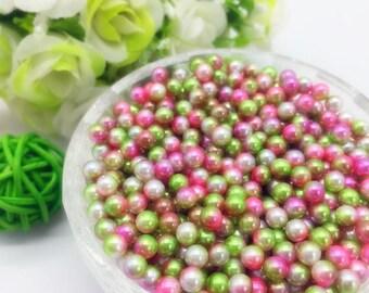 40 beads multicolored paste (non-pierced)