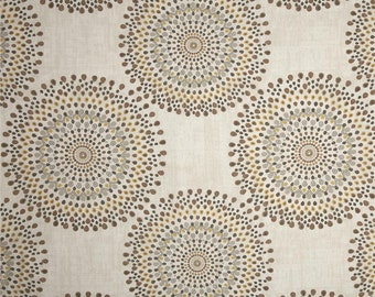Carousel Sand cotton fabric by the yard Magnolia Home Fashions