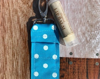 Chapstick Holder Lip Balm Holder Zipper Charm Party Favor Gift Under 10