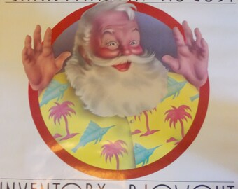 Vintage Gimbels Christmas in August Sale Poster