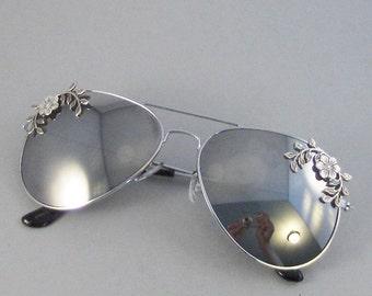 Gypsy Flower,Sunglasses,Glasses,Aviator,Aviator Sunglasses,Flower,Flower Sunglasses,Leaf,Leaf Sunglasses,Clubmaster,Vintage Style Sunglasses