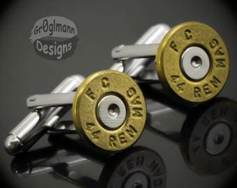 Cufflinks - Remington 44 Bullets