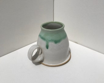 White Honeypot Mug
