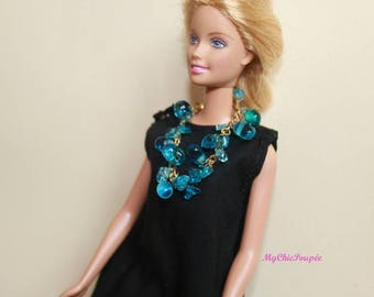 NECKLACE BARBIE, FASHION Royalty, Integrity... 1/6 scale