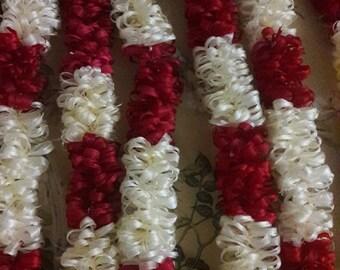 Polynesian Lei made of wild hibiscus bark: fau or hau