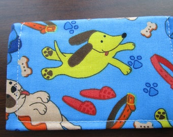 Wallet, Travel, Minimalist Wallet, Business Card Holder, Small Wallet, Business Card Case, Card Wallet, Travel Wallet, Dog Lover Gift, Dogs