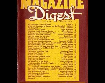 Magazine Digest vol. 25 no. 4 - Vintage Magazine c. 1942