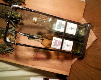 Herbal Vinegar and Olive Oil Kitchen Set, Tarragon Vinegar