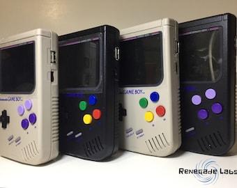 Gameboy Zero - Raspberry Pi modded Gameboy