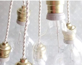 Vintage lamp holder