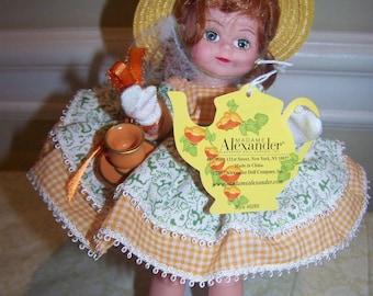 Orange Pecoe Madame Alexander doll