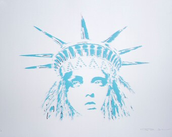 Liberty Diner - Screen Print
