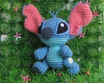 Stitch super cute - PDF amigurumi crochet pattern