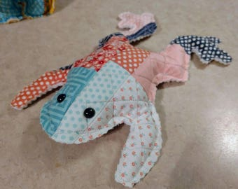 Quilted stuffed animals