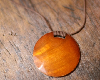 Copper shell necklace — FREE SHIPPING