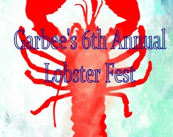Lobster Annual Fest Party Invitation Digital