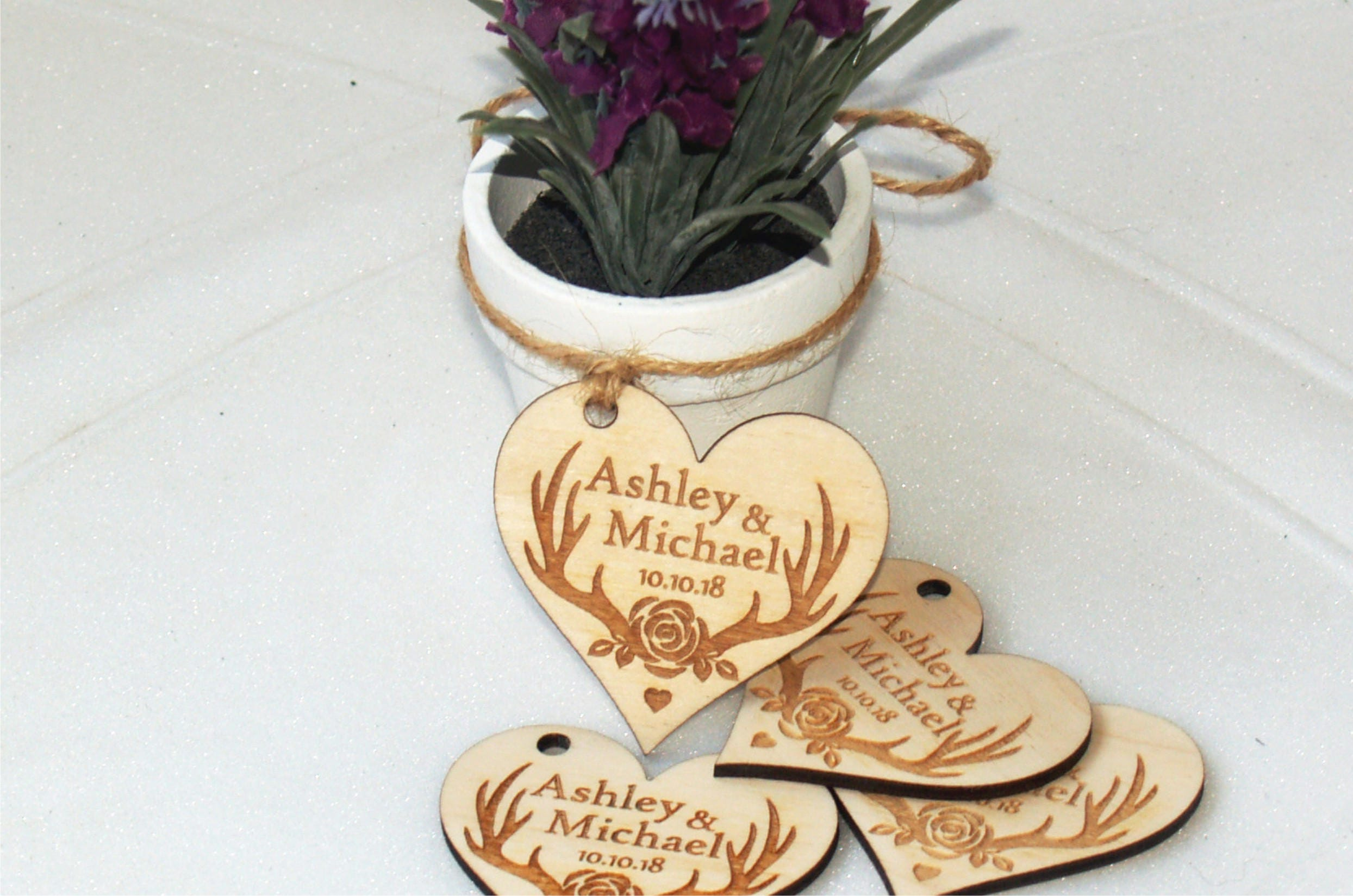 Thank you wedding tags, Wedding favor, Wedding favor tags, Wedding ...