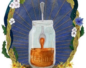 Healing Print