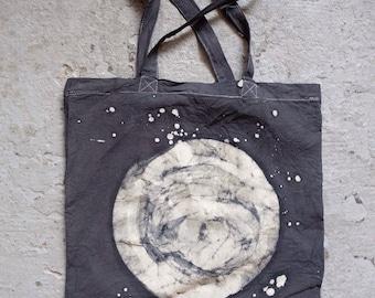 Batik Moon Bag