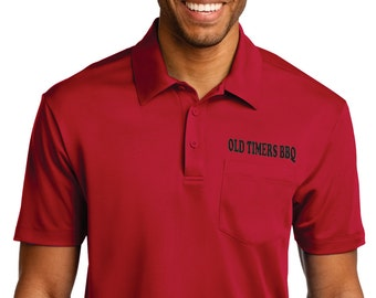 Silk Touch Performance Polo with left front Embroidery