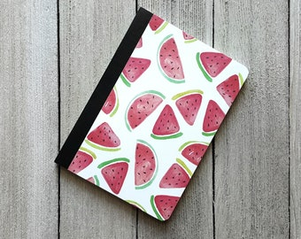 Watermelon Notebook, Small Notepad, Altered Composition Notebook, Diary, Writing Journal, Journal, Pocket Notebook