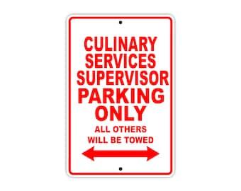 Culinary Services Supervisor