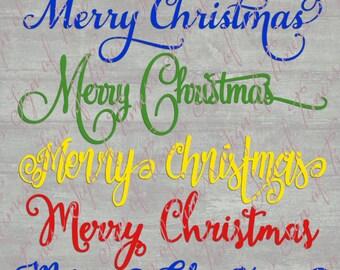 Merry Christmas SVG, Christmas SVG, SVG, Dfx, Png, Eps, Cricut File, Silhouette File, Vinyl, Cutting File, Silhouette Cameo, Cutting File