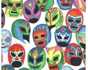 Mascaras de Pelea - Lucha Libre Wrestlers Masks - Alexander Henry BTY