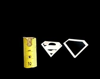 Small Superman Cookie Cutter Fondant Cutter