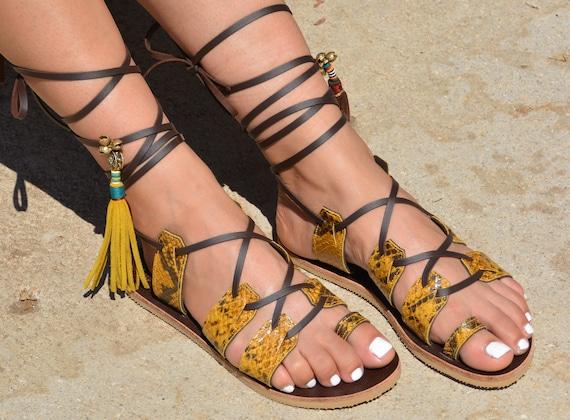 Leather Sandals Sandals Gladiator Hippie Sandals Gladiator Flat Bohemian Sandals Women Sandals Shoes Sandals Greek Shoes Sandals Boho A1rAqS