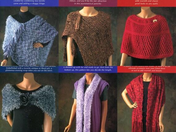 20 Poncho Shawl Shrug Wrap Knitting Patterns The Little Box Of